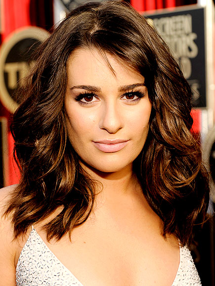 LEA MICHELE'S HAIR photo | Lea Michele