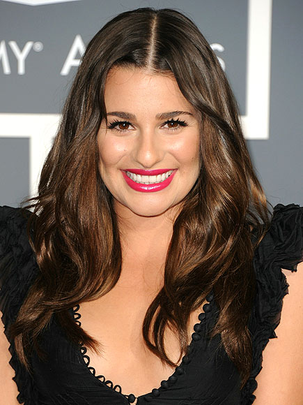 lea michele hair color. LEA MICHELE#39;S HAIR photo | Lea