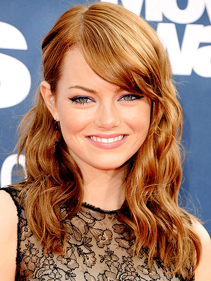emma stone hair. EMMA STONE#39;S HAIR photo | Emma