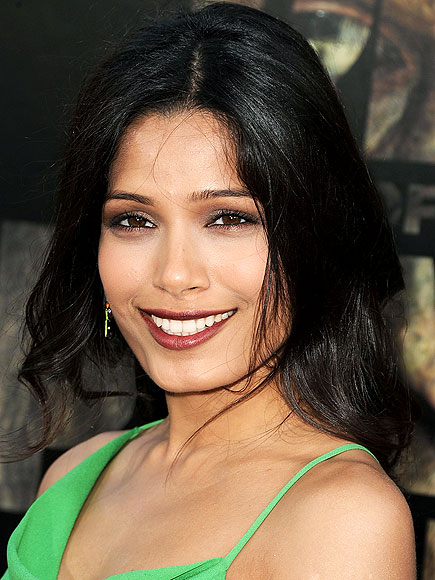 FREIDA PINTO'S HAIR photo | Freida Pinto
