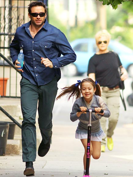 THE BUSY DAD photo | Hugh Jackman