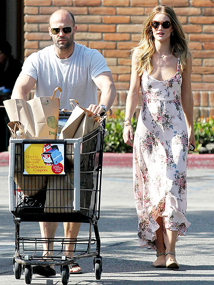 ROSIE HUNTINGTON-WHITELEY & JASON STATHAM photo | Jason Statham, Rosie Huntington-Whiteley