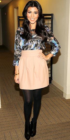 Posh Rage Fashionista Spotlight Kourtney Kardashian