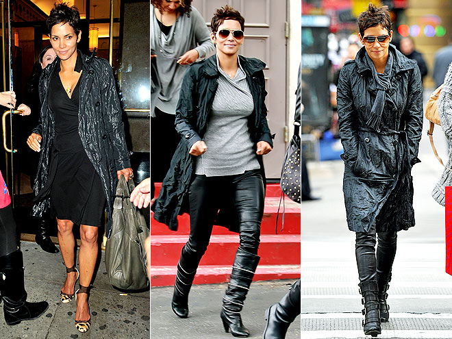 ESCADA TRENCH COAT photo | Halle Berry
