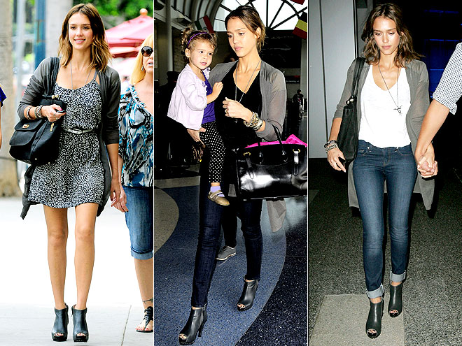 SCHUMACHER BOOTIES  photo | Jessica Alba