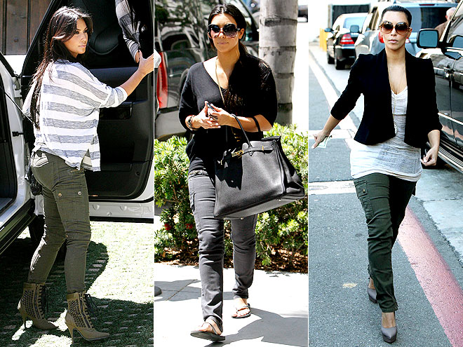BLANK CARGOS photo | Kim Kardashian