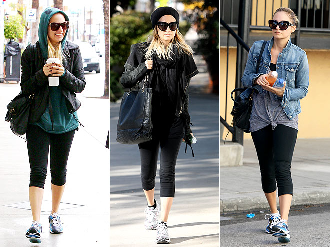 THE GIRLS LEGGINGS photo | Nicole Richie