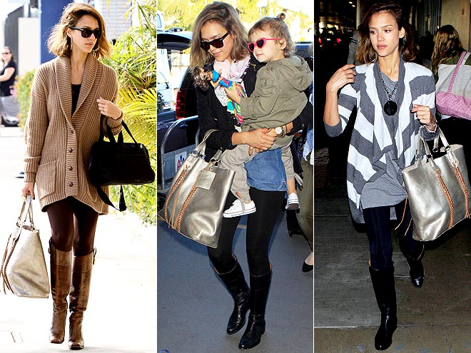 RALPH LAUREN TOTE photo | Jessica Alba