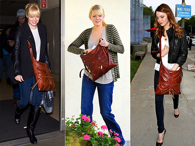 REBECCA MINKOFF CROSSBODY BAG photo | Emma Stone
