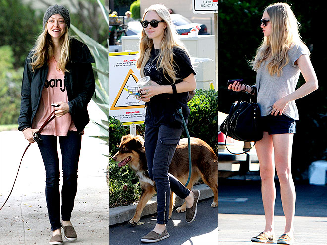SANUK SHOES photo | Amanda Seyfried