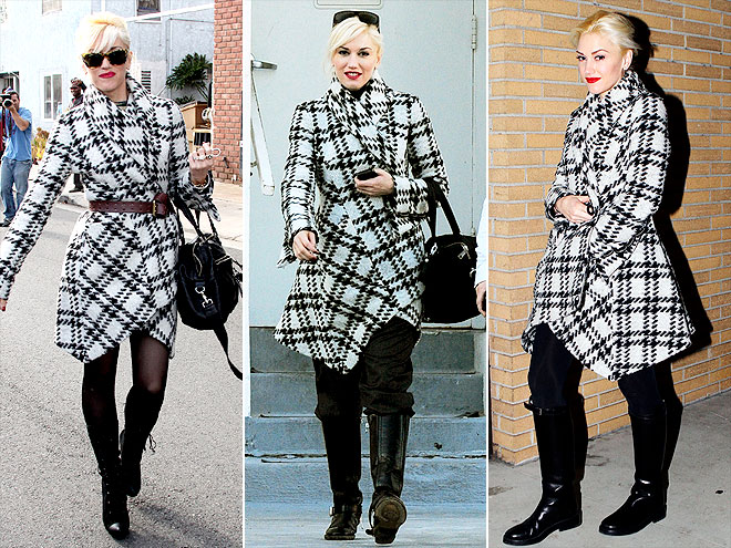 L.A.M.B. COAT photo | Gwen Stefani