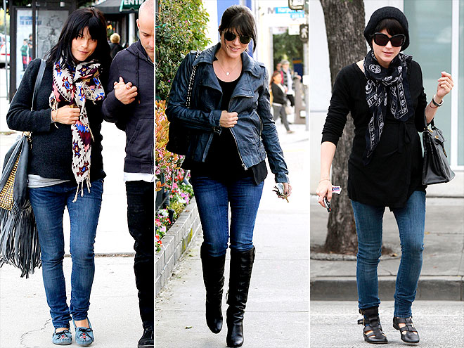 GAP MATERNITY JEANS photo | Selma Blair