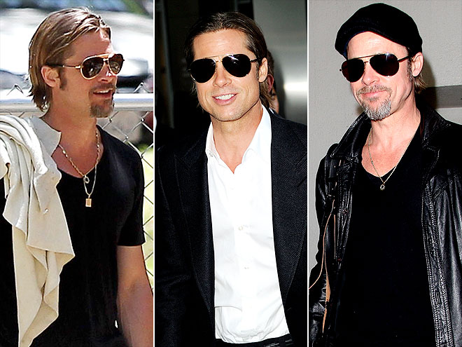 BRAD PITT IN DAVID YURMAN photo | Brad Pitt