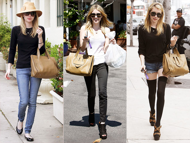 TILA MARCH TOTE photo | Emma Roberts