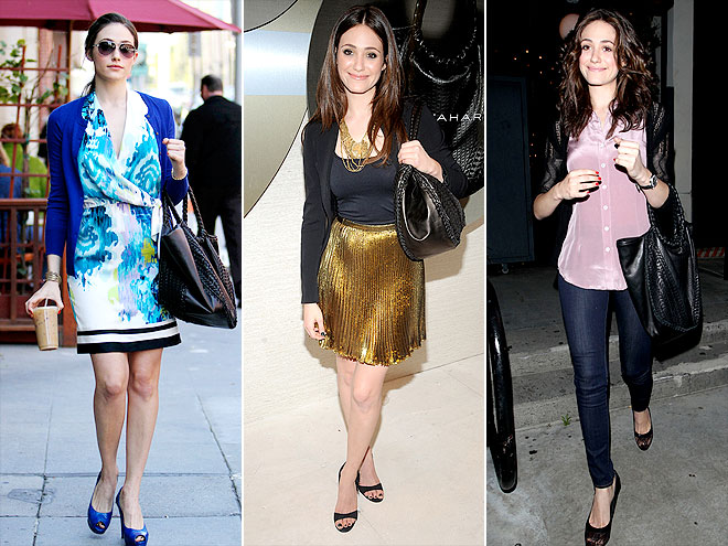 ELIE TAHARI PURSE photo | Emmy Rossum