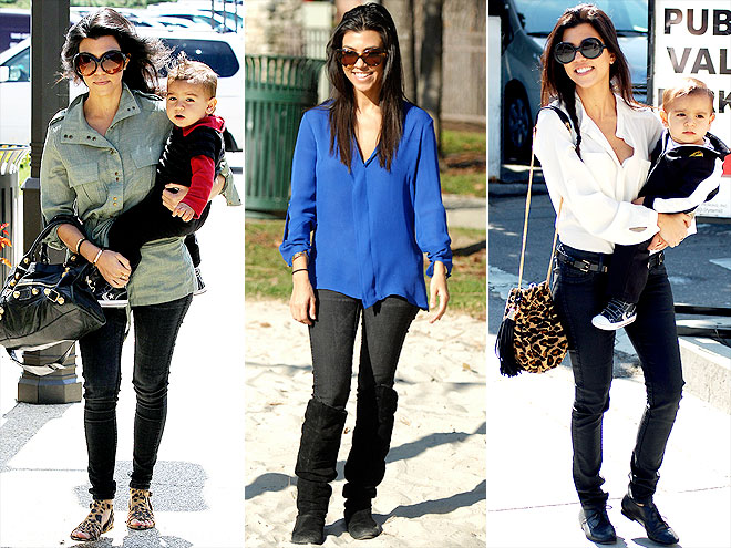 BLEULAB JEANS photo | Kourtney Kardashian