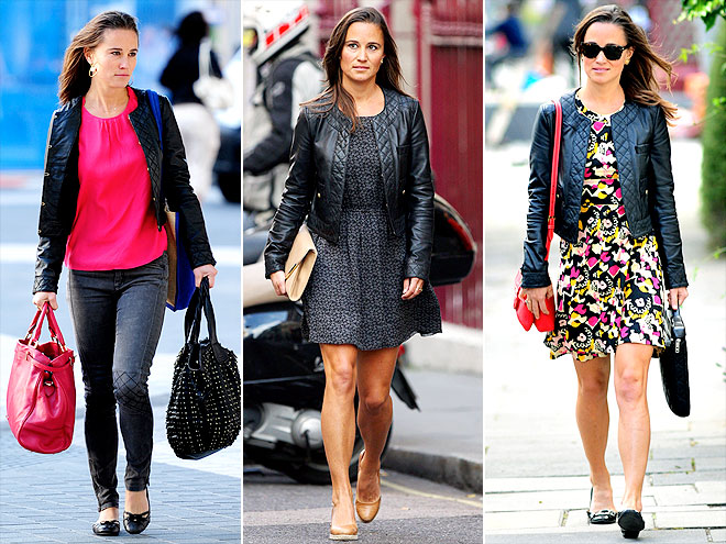 WHISTLES JACKET photo | Pippa Middleton