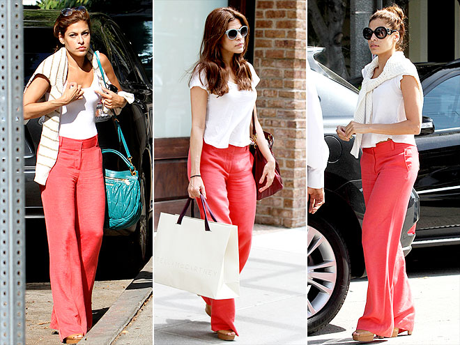 ALICE + OLIVIA PANTS photo | Eva Mendes