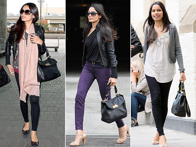 RALPH LAUREN COLLECTION PURSE photo | Freida Pinto