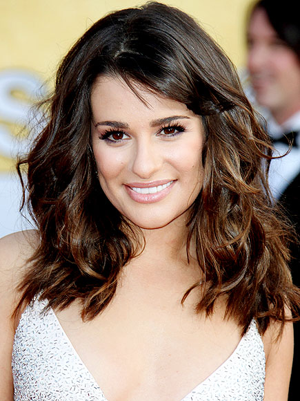 LEA MICHELE'S SEXY CURLS photo | Lea Michele