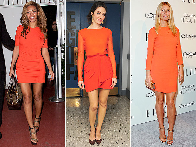 ORANGE MINIS photo | Beyonce Knowles, Emmy Rossum, Gwyneth Paltrow