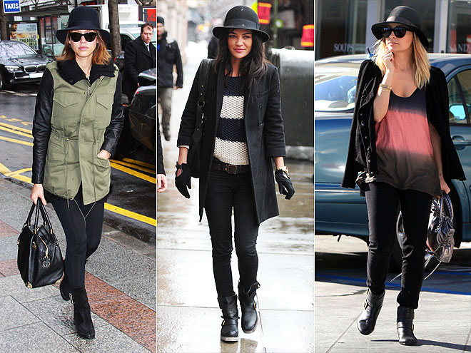 STRUCTURED HAT photo | Jessica Alba, Jessica Szohr, Nicole Richie