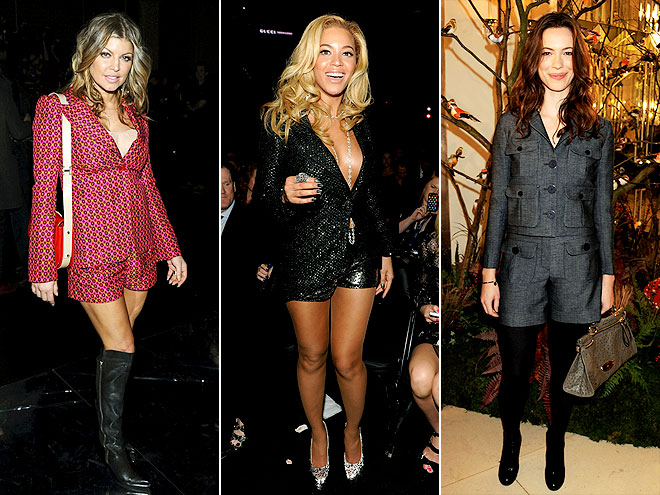 SHORTS SUITS photo | Beyonce Knowles, Fergie, Rebecca Hall