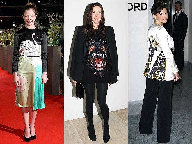 LITERAL ANIMAL PRINTS photo | Ginnifer Goodwin, Hailee Steinfeld, Liv Tyler