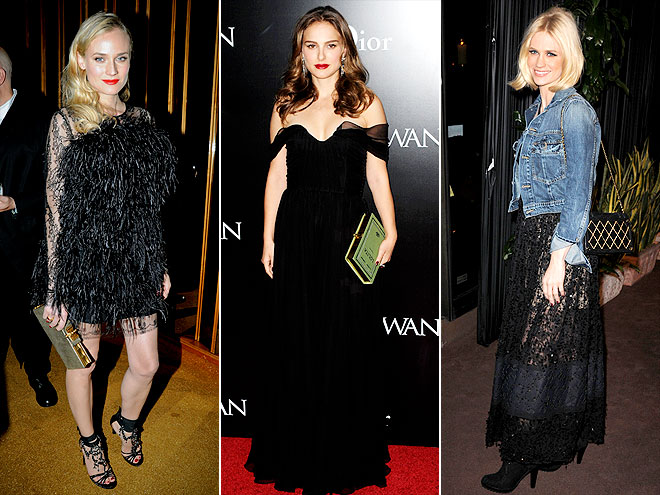 BOOK-SHAPED CLUTCHES photo | Diane Kruger, January Jones, Natalie Portman