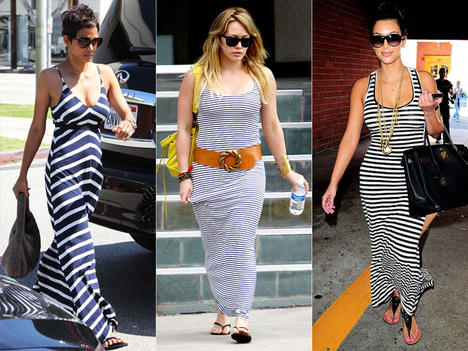 STRIPED TANK MAXIS photo | Emmanuelle Chriqui, Hilary Duff, Kim Kardashian