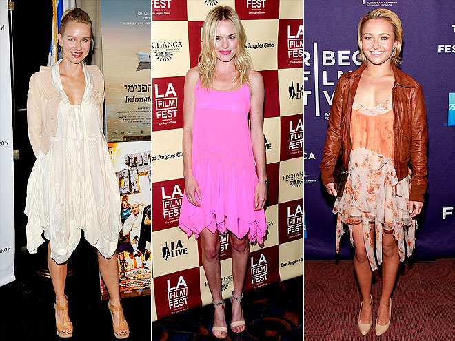HANDKERCHIEF HEMS photo | Hayden Panettiere, Kate Bosworth, Naomi Watts