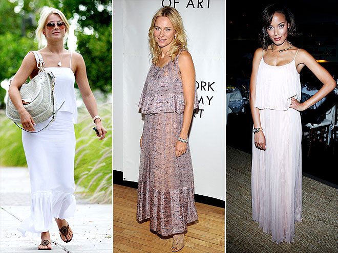 TIERED MAXIDRESSES photo | Julianne Hough, Naomi Watts, Selita Ebanks