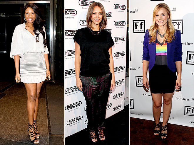 LACE-UP SANDALS photo | Jennifer Hudson, Jessica Alba, Kristen Bell