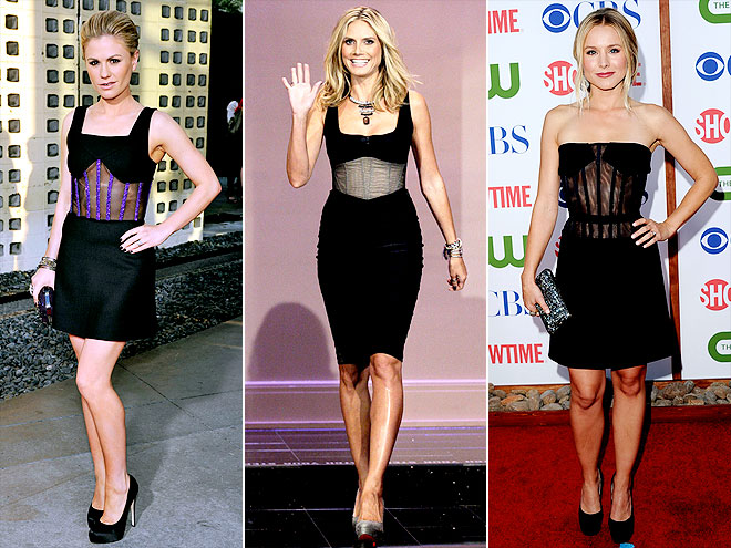 SHEER CORSETRY photo | Anna Paquin, Heidi Klum, Kristen Bell