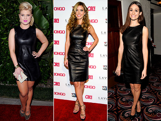 LEATHER SHEATHS photo | Audrina Patridge, Emmy Rossum, Kelly Osbourne