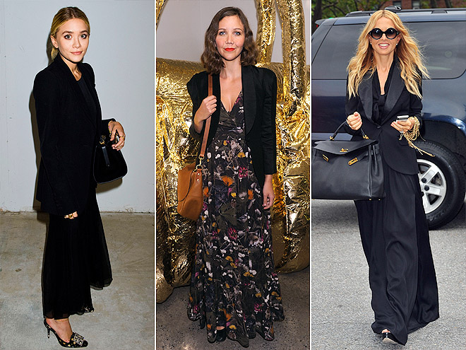 BLAZERS AND MAXIS photo | Ashley Olsen, Maggie Gyllenhaal, Rachel Zoe