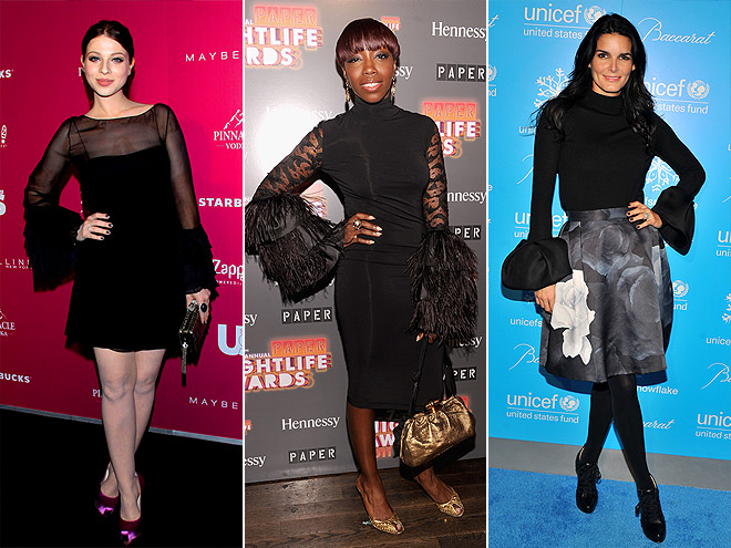 EXAGGERATED BELL SLEEVES  photo | Estelle, Angie Harmon, Michelle Trachtenberg