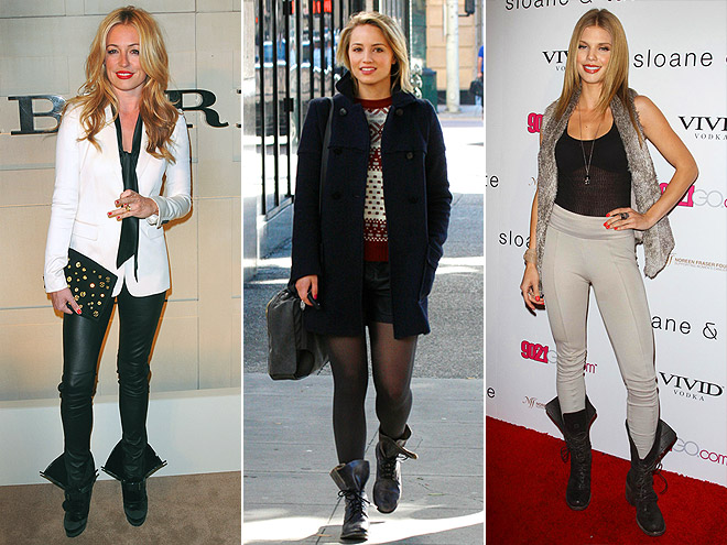 UNLACED BOOTS photo | AnnaLynne McCord, Cat Deeley, Dianna Agron