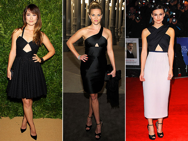 KEYHOLE CUTOUTS photo | Keira Knightley, Olivia Wilde, Reese Witherspoon
