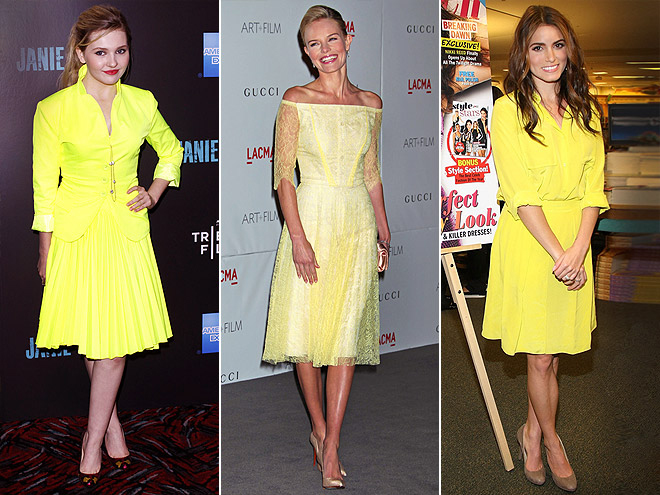 LADYLIKE HIGHLIGHTER YELLOW photo | Abigail Breslin, Kate Bosworth, Nikki Reed