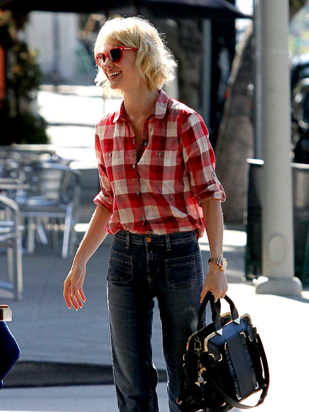JANUARY JONES'S JEANS photo | January Jones