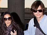 Demi Moore and Ashton Kutcher Touch Down in Brazil | Ashton Kutcher, Demi Moore