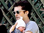 Orlando Bloom Shows Off Son Flynn | Orlando Bloom
