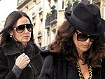 Demi Moore and Salma Hayek Take Paris by Storm | Demi Moore, Salma Hayek