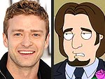 Get the Scoop on Justin Timberlake's Guest Spot on The Cleveland Show!
