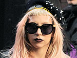 Lady Gaga Wears a Bra &#8211; and Barely Anything Else! &#8211; in N.Y.C.