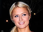 Paris Hilton Gets Into the Valentine's Day Spirit