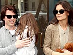 Tom Cruise, Katie Holmes and Suri Head to Dylan's Candy Bar | Katie Holmes, Tom Cruise
