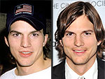 Ashton Kutcher's Changing Looks