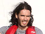 Russell Brand Jet Skis Around Miami | Russell Brand